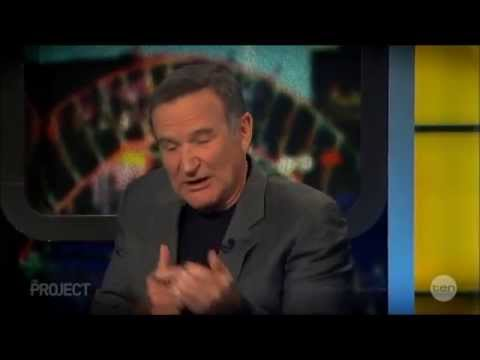 Robin Williams Last LIVE Australian Tv Interview December 7, 2011