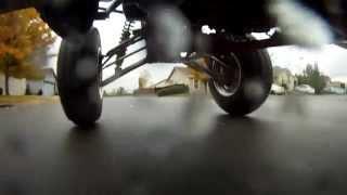 CRAZY RAIN DRIFTING QUAD VS BIKE GSX-R1000