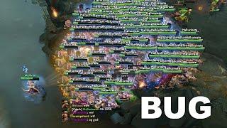 Dota 2 Reborn: Massive Heroes Spawn BUG