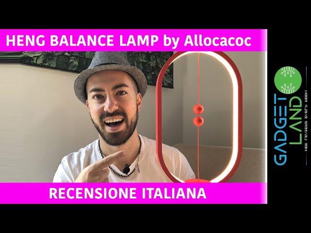 Recensione Heng Balance Lamp Allocacoc | Lampada Design con le PALLE!