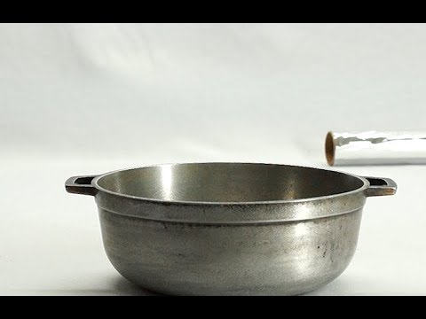 How to Clean the pots with Aluminum Foil- HomeArtTv by Juan Gonzalo Angel