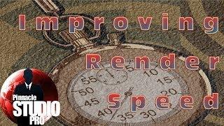 Pinnacle Studio Tip #1 - Best Render Settings Tutorial