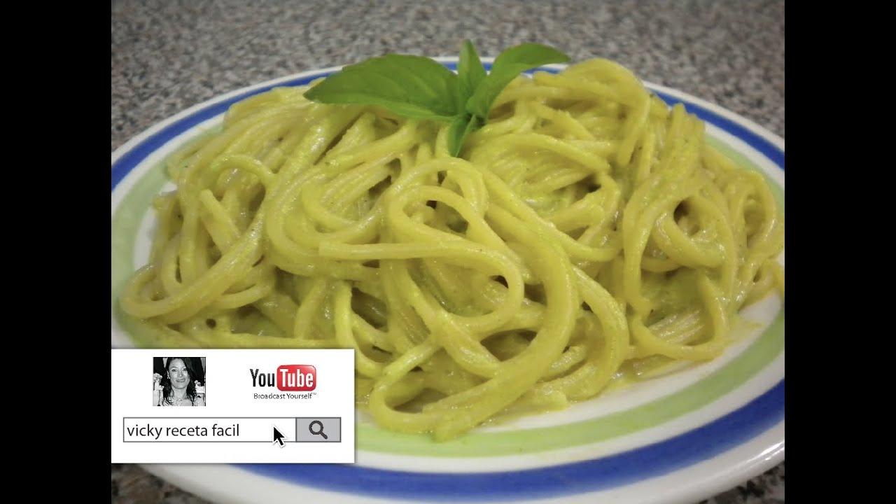 Image Result For Receta Facil Espagueti Verde