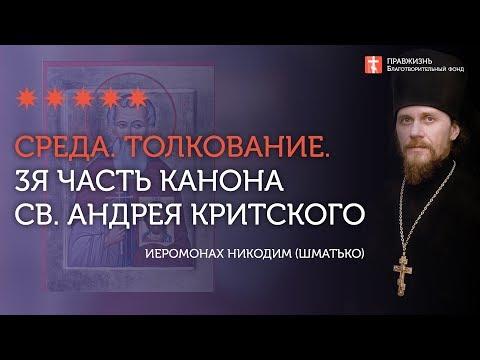 3-я часть. Толкование. Великий канон св. Андрея Критского. Иеромонах Никодим (Шматько)