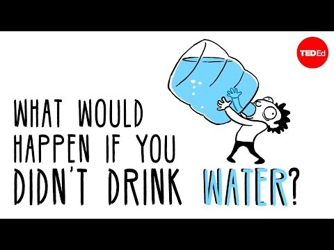 What would happen if you didn't drink water? Mia Nacamulli