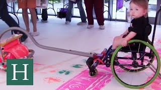 Artist Invents Tools That Enable Kids With Disabilities To Paint