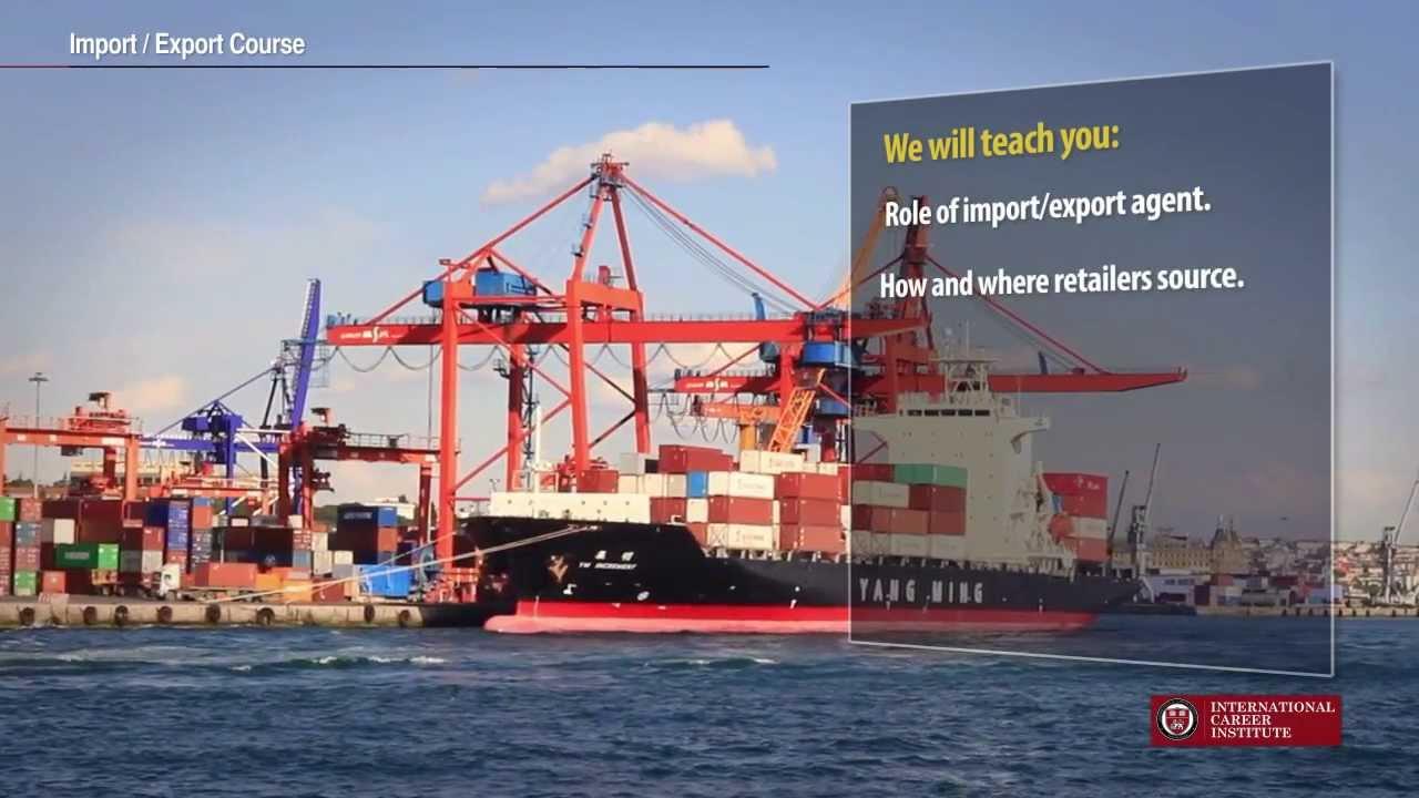 Import Export (International Trade) Courses - International