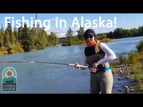 Cooper Landing Fishing Guide Channel Trailer - Fishing On Alaska's Kenai River