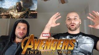 Marvel Studios' Avengers: Infinity War - Official Trailer [REACTION]