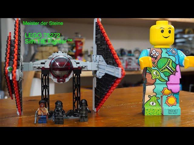 Sith, TIE Fighter ™, Lego 75272, Meister der Steine