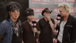 Sixx:A.M. at Download Festival 2016