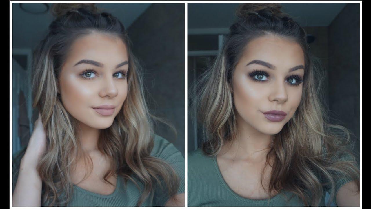 Day To Night Makeup Look : Jordan Lipscombe - YouTube