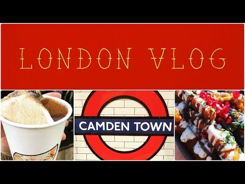 London Trip//Exploring Camden Market