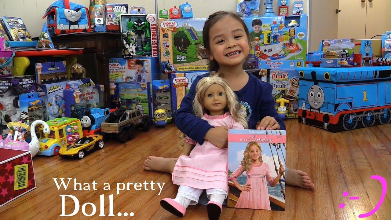 Toys For Little Girls Unboxing American Girl Doll Caroline