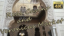 Real Casino and Veronicas Market in Murcia - Spain 4K Travel Channel