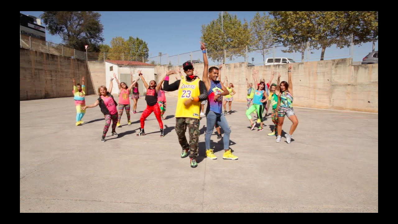 Henry Mendez - Voy a Gritar  Feat  Dami Espinosa , Zumba community Spain