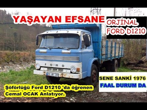 EFSANE TRUCK FORD D 1210/1976 MODEL / INTRODUCTION CHAT