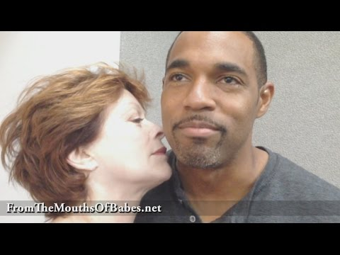 Frances Fisher and Jason George Self
