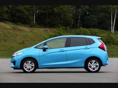 Charming All New 2014 Honda Fit/Jazz Hybrid Blue