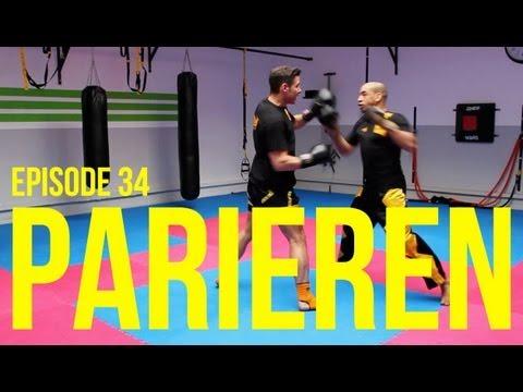 Kickbox Training #34 - Parieren / Kickboxen / Boxen Lernen / Abwehrtechnik / Köln / Fitness