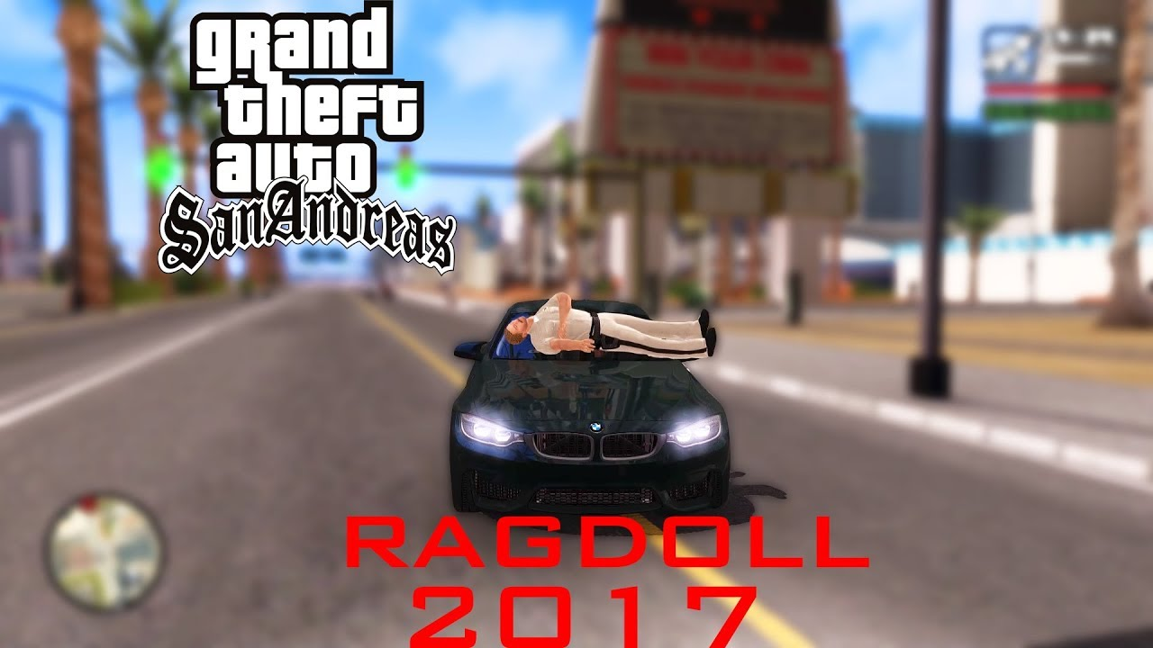Gta San Andreas Best Ragdoll Mod 2017 Tutorial Youtube