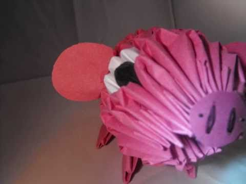 3D Origami Pig - YouTube - photo#31