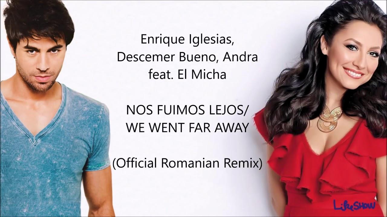 Nos Fuimos Lejos Romanian Remix Lyrics English Translation