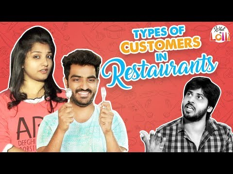 Types Of Customers In Restaurants || What The Lolli || Latest Telugu Comedy Video