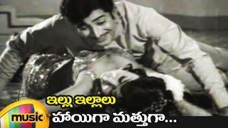 Haayiga Mattuga Music Video | Illu Illalu Telugu Movie Songs | Krishna | Vani Shri | Mango Music