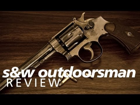 Quickies - the Smith & Wesson pre-K22 Outdoorsman revolver in 22lr