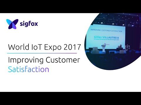 Sigfox World IoT Expo 2017│Improving Customer Satisfaction