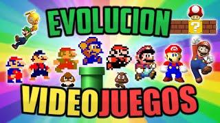 TOP EVOLUCIÓN DE LOS VIDEOJUEGOS  (GRÁFICOS ACTUALES VS ANTIGUOS)