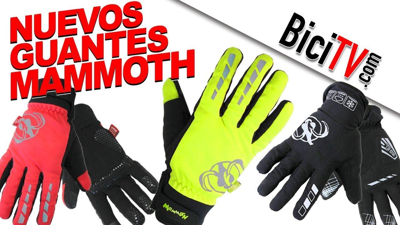 00768dc5 Nuevos Guantes de invierno para bicicleta Mammoth