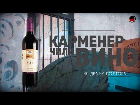 """Вино Санта Лус, """"Альба"""". Карменер. Чили. Красное и белое. Какое #вино купить в магазине? Дешёвки."""