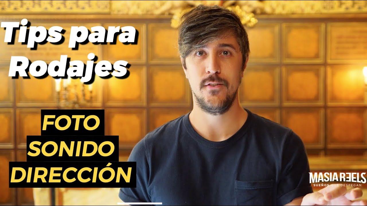 RUEDA GRATIS TU VIDEOBOOK - tips de Rodaje