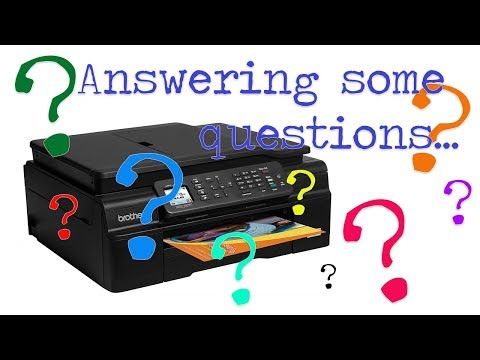 Answering some of your Printing Questions