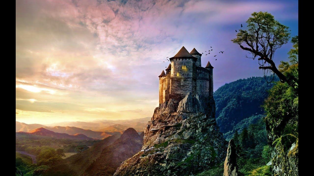 fantasy world contemplation (art slideshow for meditation/background