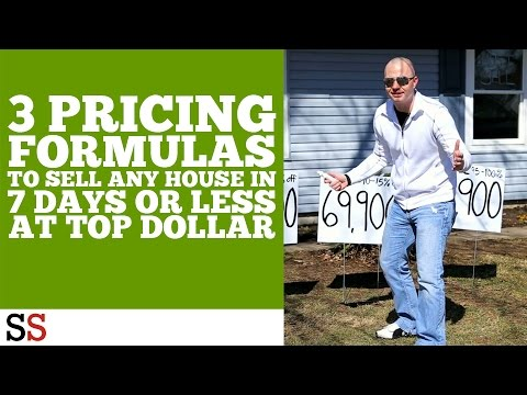 3 Pricing Formulas To Sell Any House In 7 Days Or Less At