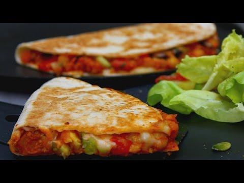 recette-de-quesadillas-galettes-végétariennes-₪-pankaj-sharma