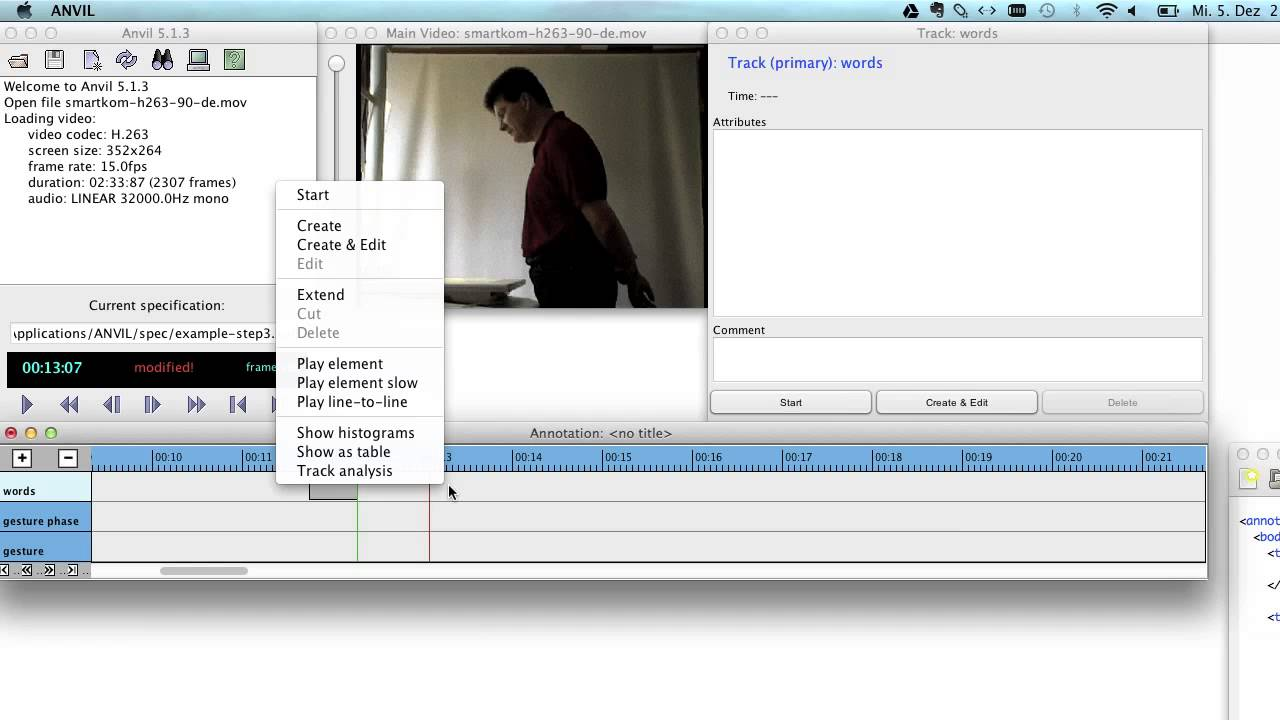 ANVIL: The Video Annotation Research Tool