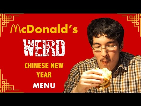 American Guy Tries McDonald's New Chinese New Year Menu