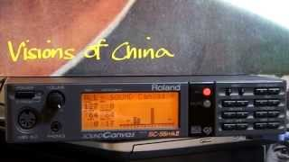 Roland SC-55mkIIで - Japan Visions of China を演奏してみた