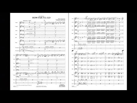 How Far I'll Go (from Moana) by Lin-Manuel Miranda/arr. James Kazik