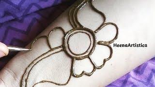 Arabic mehendi design || HeenaArtistica