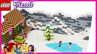 Lego Friends Winter on the Mountains by Misty Brick.