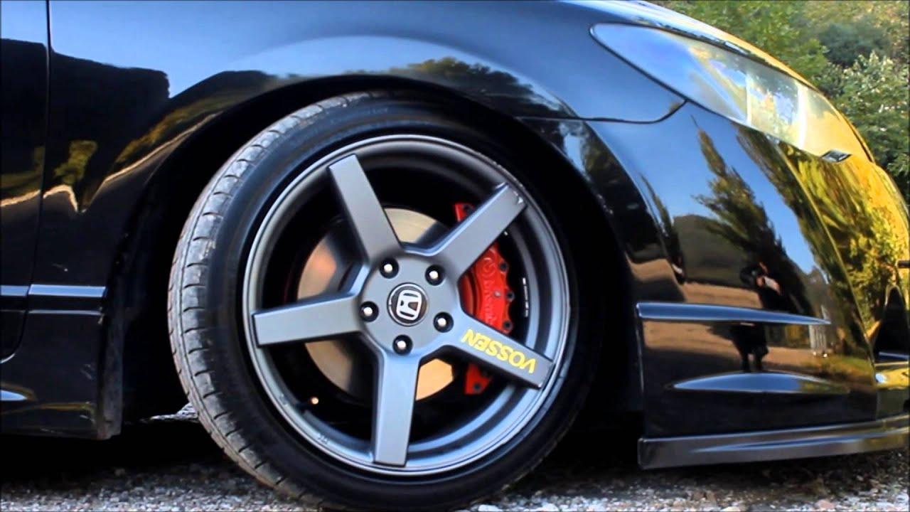 Honda Civic Coilovers >> Honda Civic Air Suspension - YARASA - YouTube
