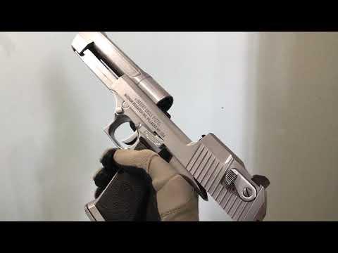 Cybergun WE Desert Eagle Silver Chrome finish custom