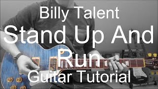 Guitar video lesson #132 Billy Talent: Stand Up And Run