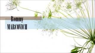 ROMMY MARCOVICH y CHOCA MANDROS - Eres tu mi corazón  (letra)