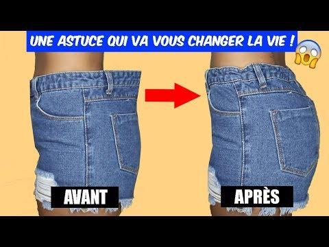 Ajuster un pantalon au niveau de la taille en 5 min !
